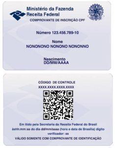 CPF Irregular impede emissão e renovação de Passaporte